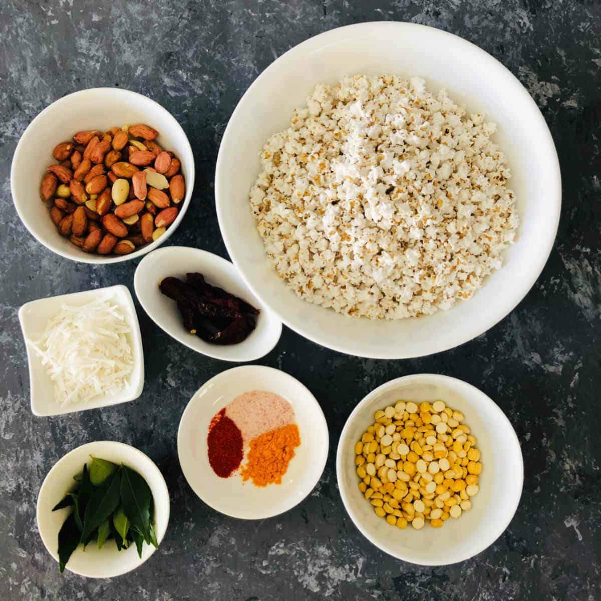 Jowar dhani chivda ingredients