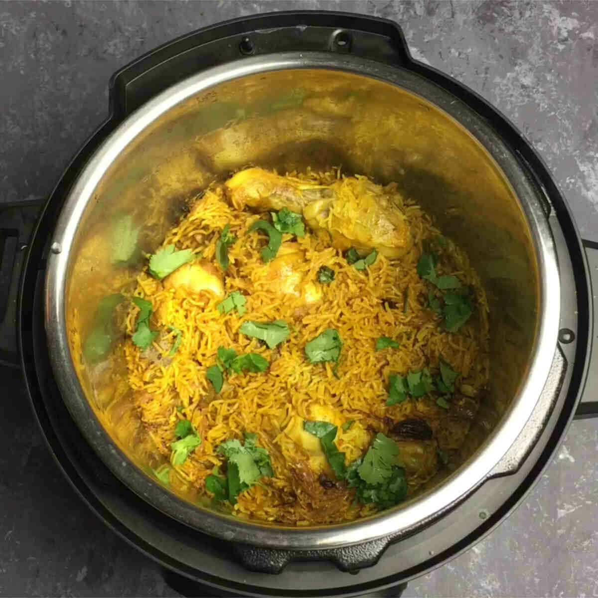 chicken pulao made in instant pot