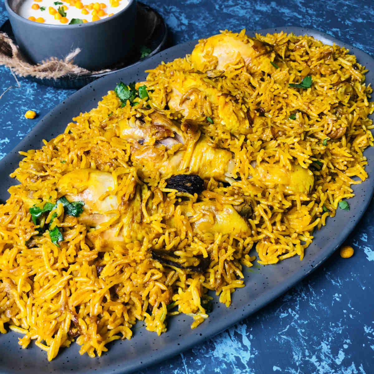 instant pot chicken pulao