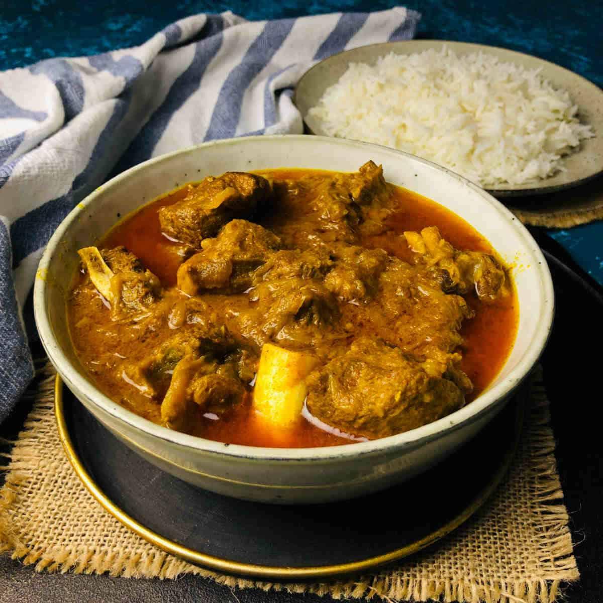 instant pot goat curry