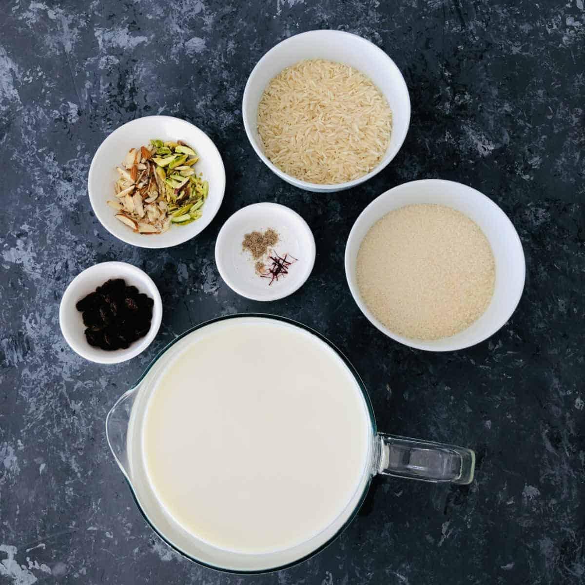 ingredients to make instant pot kheer