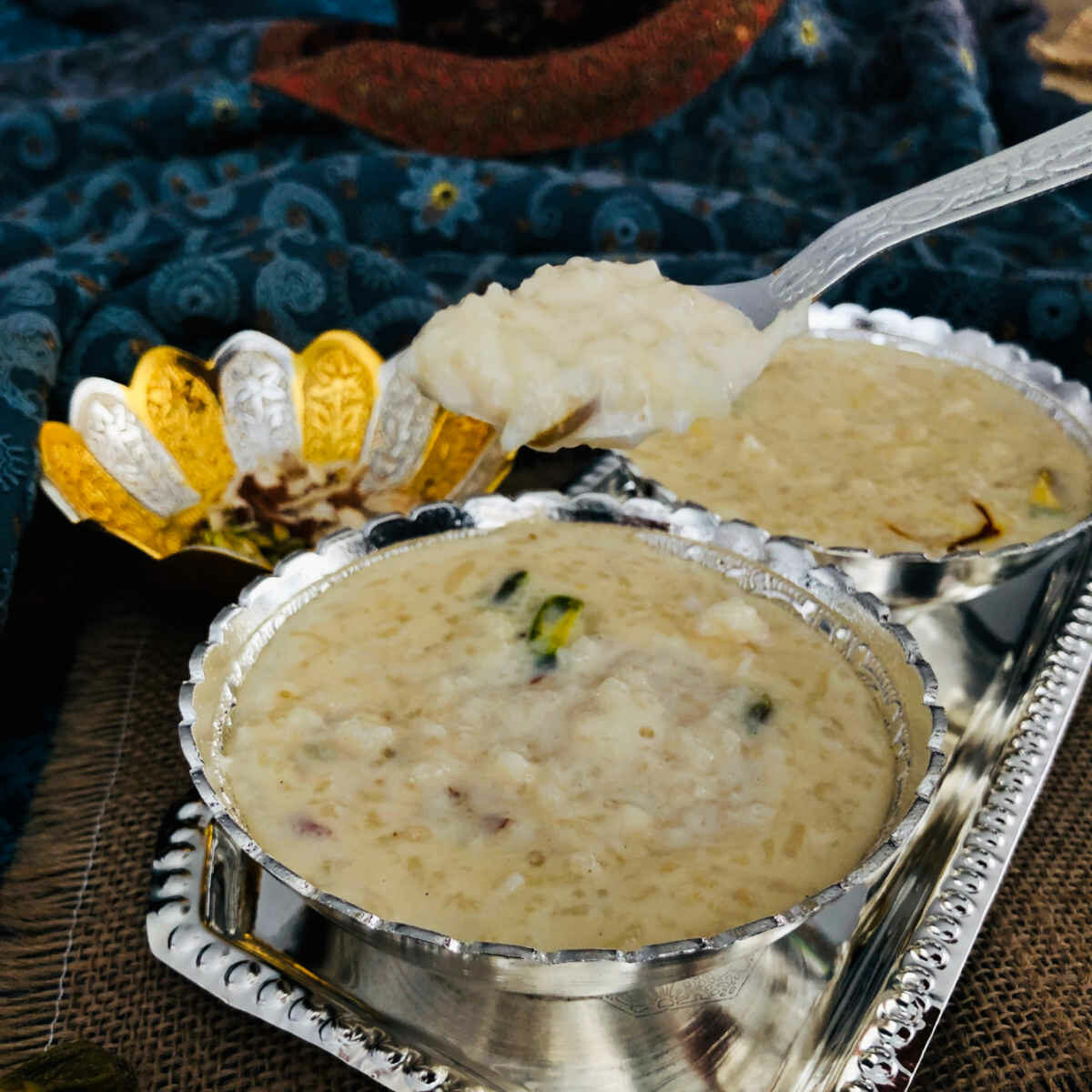 thick and creamy kheer