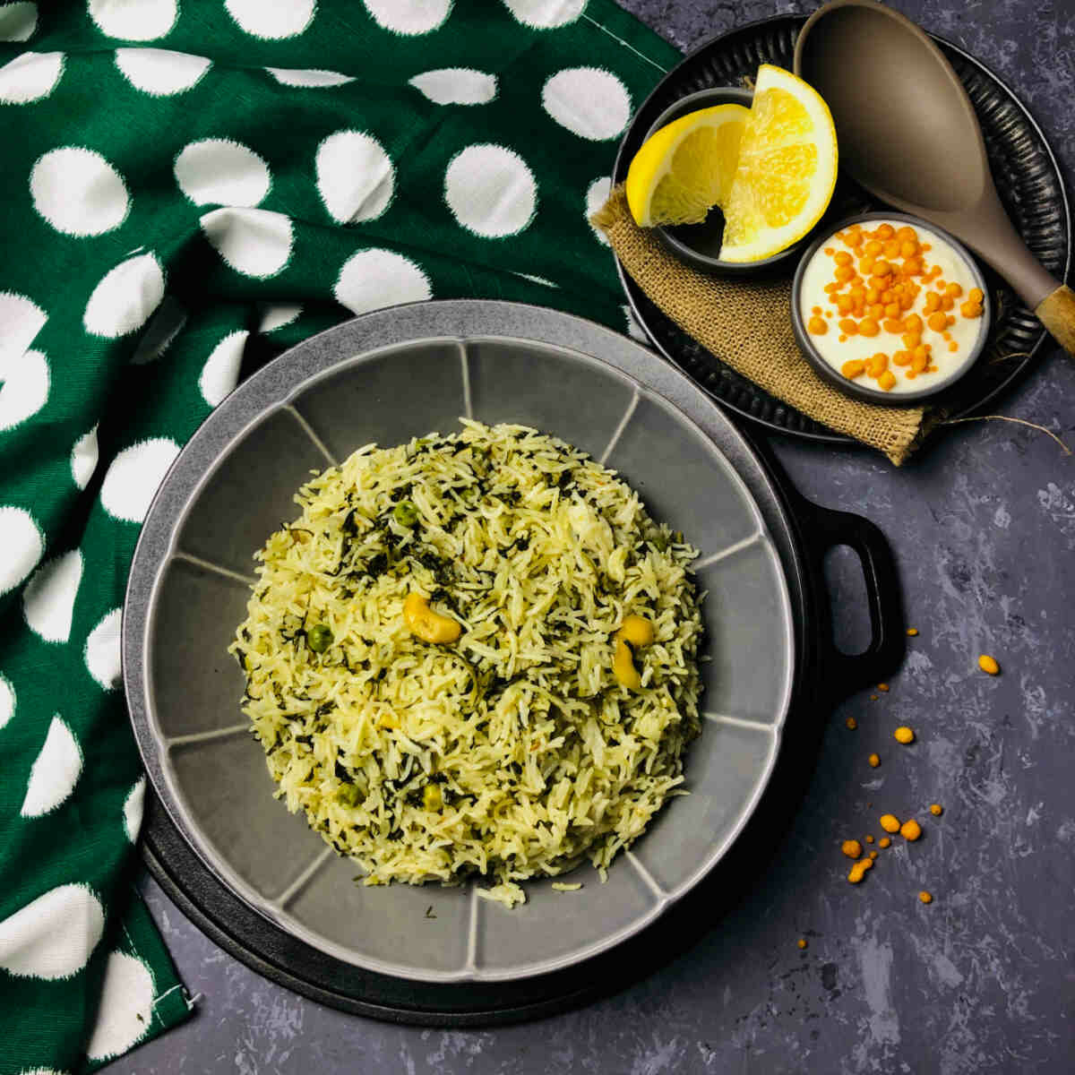 instant pot methi rice